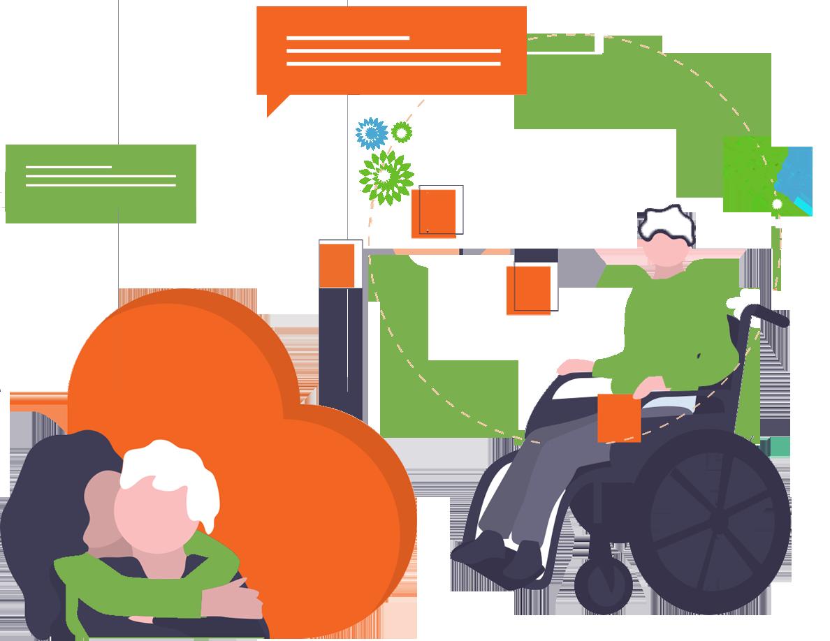 Daño cerebral, rehabilitación y estimulación del lenguaje para personas mayores en Collado Villalba y Torrelodones
